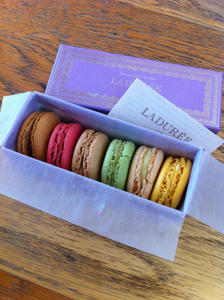 Laudree macaroons.  Love these things.