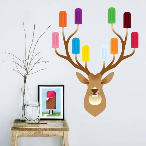Stag Party Wall Decal