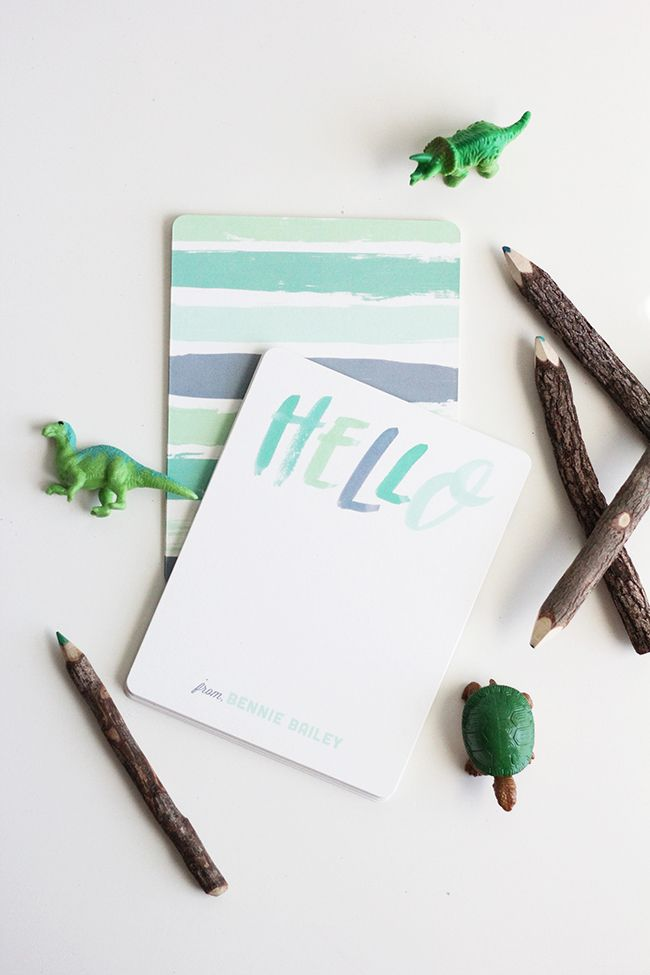 Personalized Stationery for Kids | minted | Little Peanut Magazine