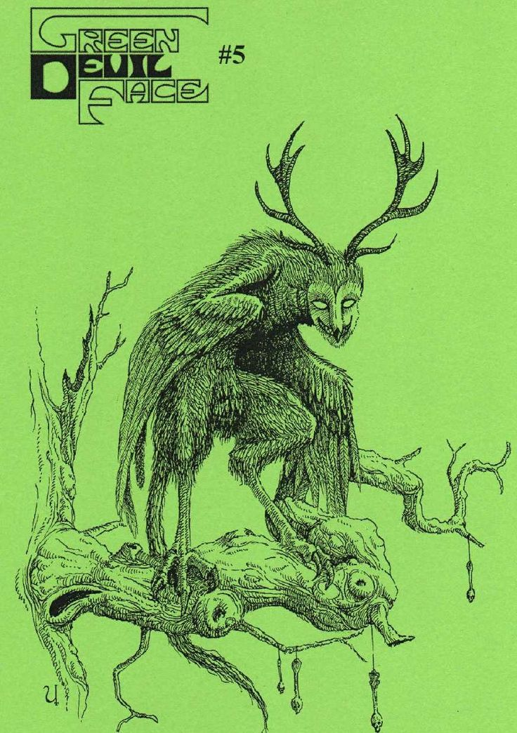 green devil face #5 - Google-haku