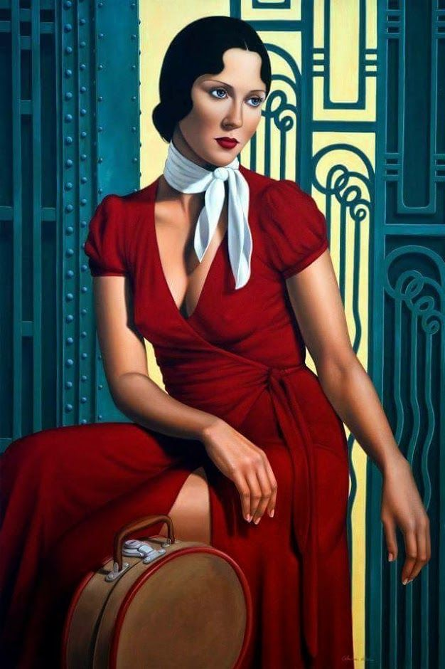 Catherine Abel | ^ 650° https://de.pinterest.com/ximenammf/damas-de-rojo/