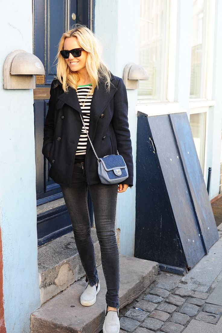 Casual Top Nørgard, jeans Anine Bing