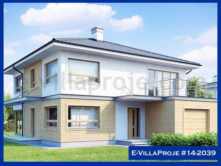 Ev Villa Proje #14 – 2039, 2 katlı, 4 yatak odalı, 207 m2