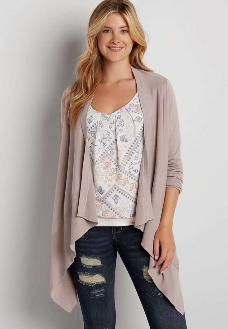 waterfall cardigan (original price, $34.00) available at #Maurices