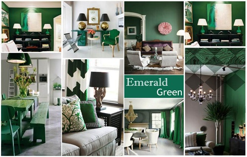 Couleur Pantone 2013 : l'Emerald Green ! | MyHomeDesign