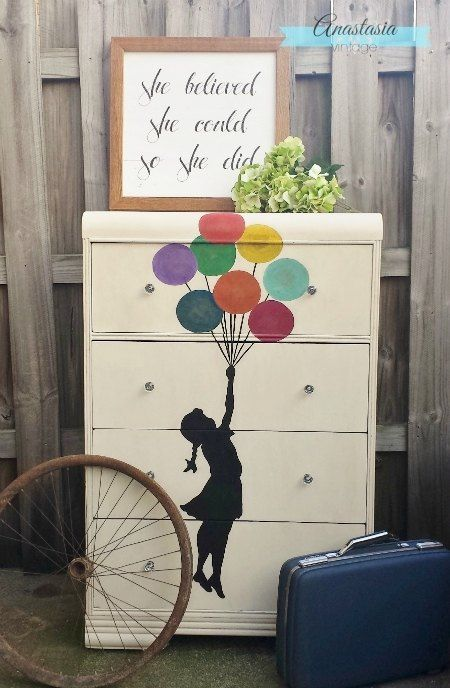 s 30 jaw dropping furniture flips you have to see to believe, painted furniture, Scratched Dresser to Dreamy Masterpiece