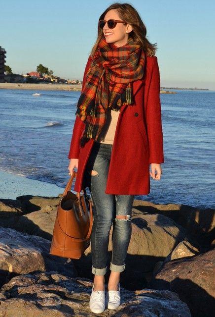 como usar bufandas XL | ActitudFEM