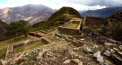 Turista di mestiere: Il Perù visto dall'alto: Choquequirao