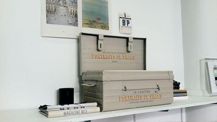 be-poles - Portraits de Villes — PORTRAITS DE VILLES —  Carte blanche, an artist, a town. Rare collector's edition books. #bepoles