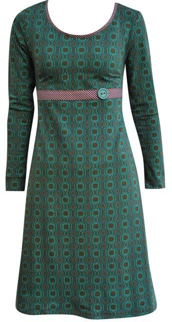 My green retro regular - dress