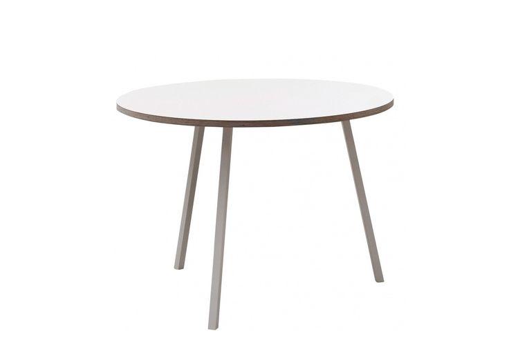 witte hay loopstand ronde tafel
