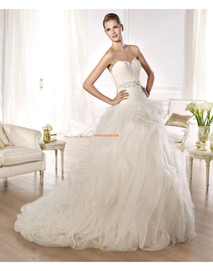 Coda a Strascico Corto Glamour Primavera Abiti Da Sposa 2014