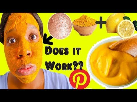 Turmeric Lemon Juice Face Mask - Savvy Naturalista