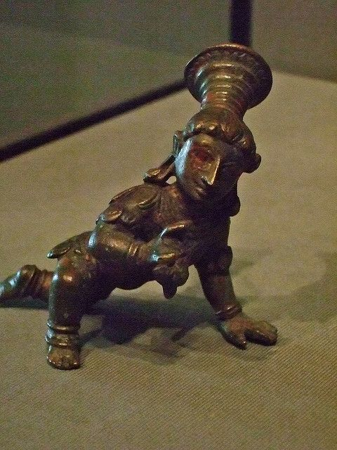 Krishna as a baby 1500-1700 Ce Southern India Bronze