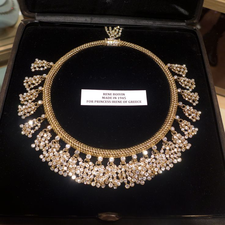 René Boivin diamond necklace a la Hindou, circa 1947 (Véronique Bamps)