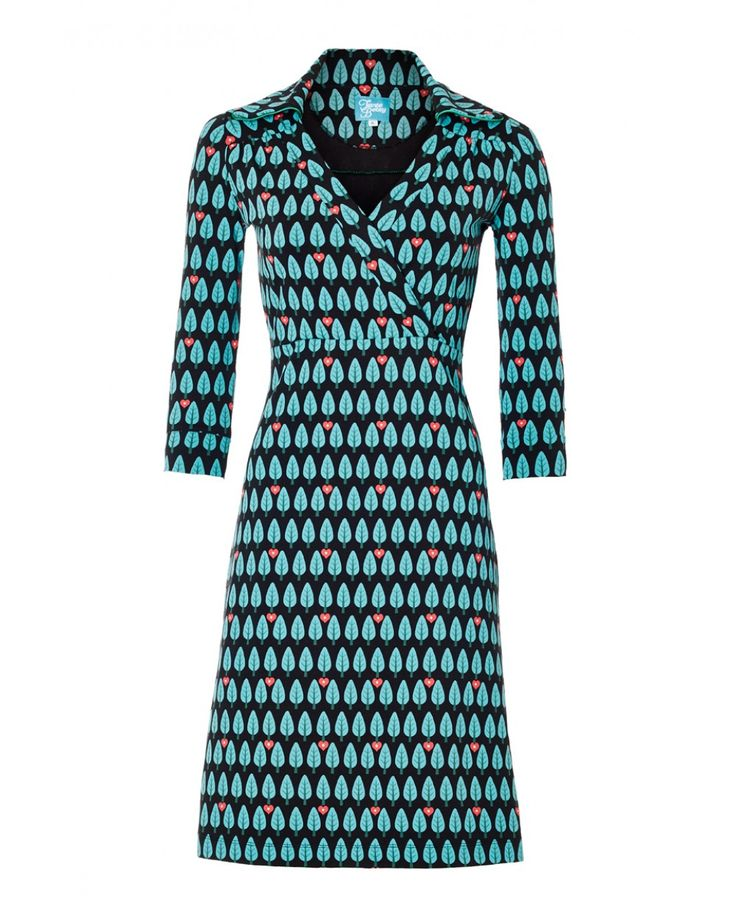 Tree print dress -Tante Betsy.com