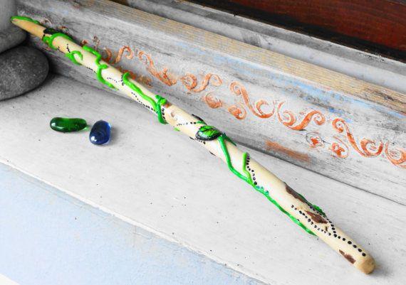 Magic wand Hermione wand Wizards magic wands Handmade by NayasArt