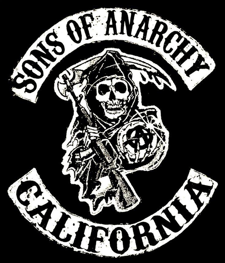 Sons Of Anarchy Reaper Logo Skull Reaper