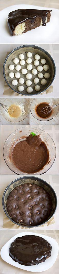 Как приготовить шоколадно - творожный мягкий пирог - рецепт, ингридиенты и фотографии