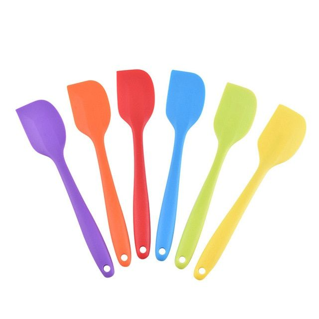 Butter Silicone Baking Mold Cake Spatula Pastry Scraper Cookies Mould