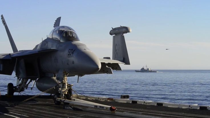 Carl Vinson Carrier Strike Group conducts a simulated strait transit, No...