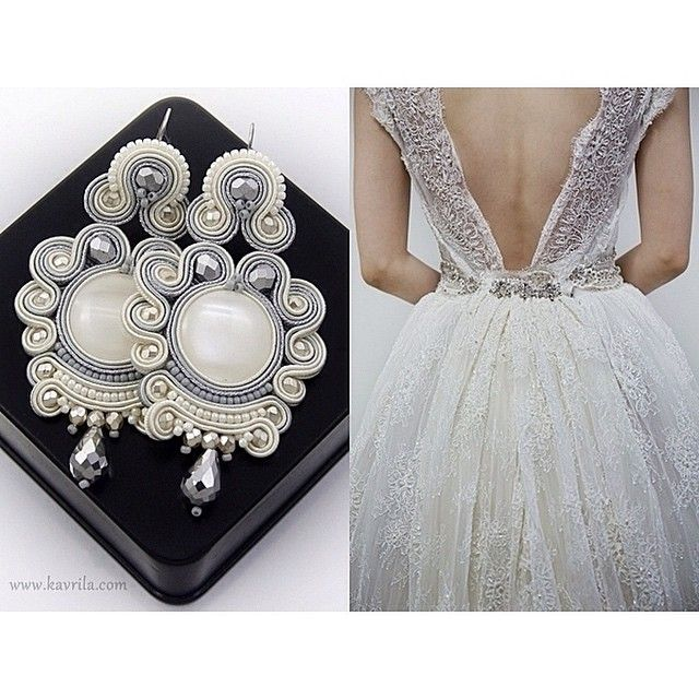 Jewellery Soutache @kavrila #sutasz #soutache...Instagram photo | Websta (Webstagram)