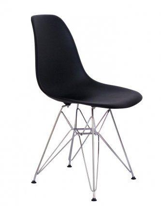 Replica Eames DSR Chair — Black