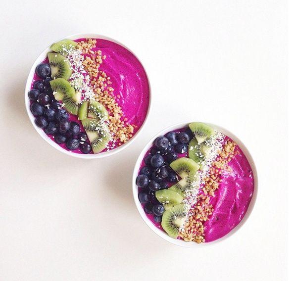 Let's Cook Vegan, le compte Instagram healthy food et ses recettes détaillées Pitaya bowl