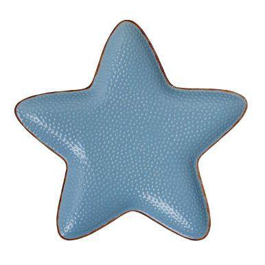 PORTOFINO Seesternteller blau 25x25cm - Teller