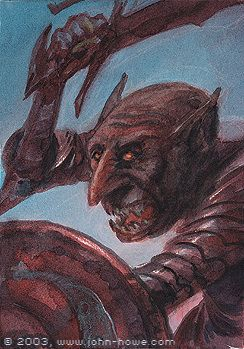 Lagduf (late Third Age) was an Orc soldier who served under Shagrat in the garrison of the Tower of Cirith Ungol. During the War of the Ring, a riot broke out in the Tower with a rival band of orcs from Minas Morgul. Lagduf attempted to escape with another Orc named Muzgash, but they were both shot as they ran from the fortress.