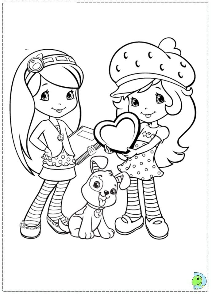 42 best Strawberry Shortcake ~ Coloring Pages images on ...