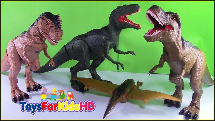 Dinosaurios de juguete Velociraptor - Mighty Megasaur Velociraptor Video...
