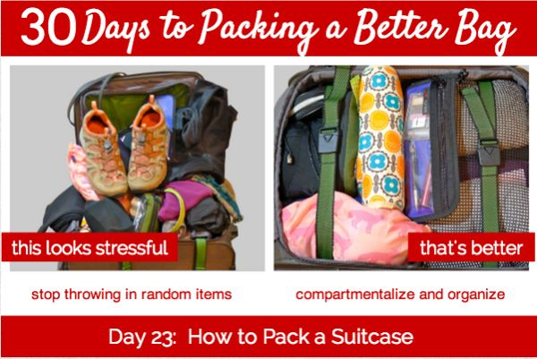 Day 23:  How to Pack a Suitcase