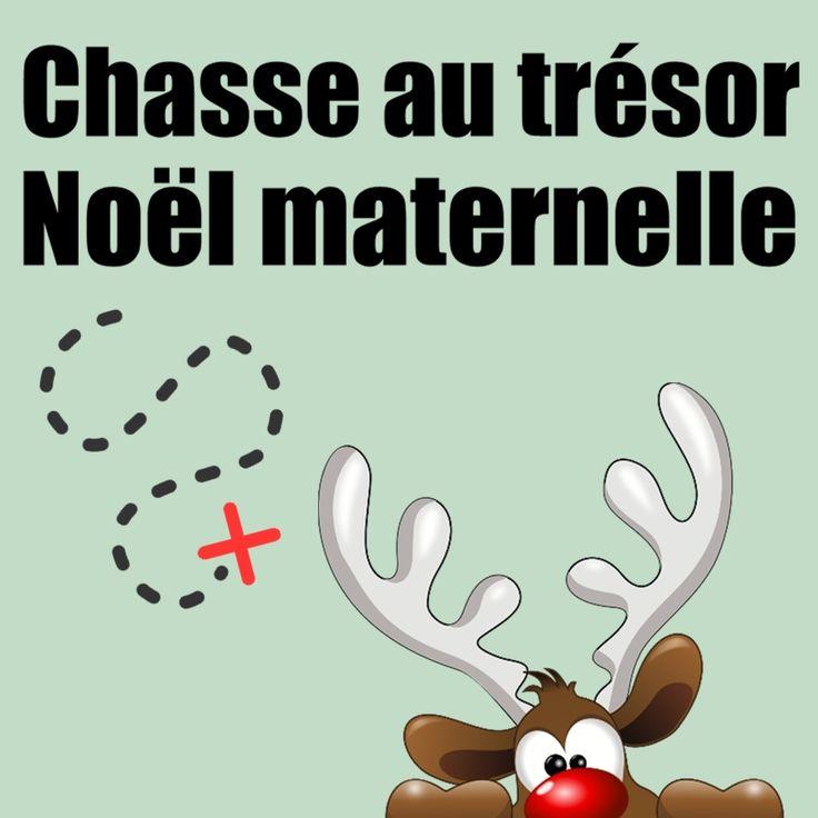 Chasse Au Tresor Noel Maternelle Les Rennes Du Pere Noel Rennes Pere Noel Noel Maternelle Chasse Au Tresor De Noel