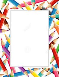 Marc amb llapis de colors