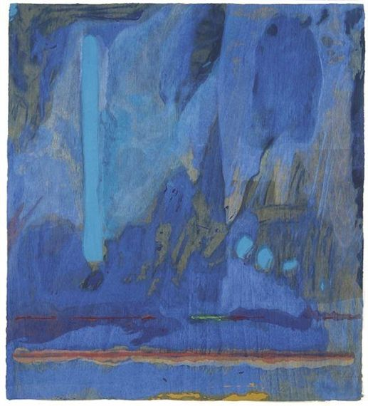 Tales of Genji III Artist: Helen Frankenthaler Completion Date: 1998 Style: Abstract Expressionism, Lyrical Abstraction Genre: abstract