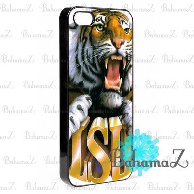 New Rare LSU Tigers NFL American Football Mascot iPhone 5 5S Case | Bahamaz - Accessories on ArtFire