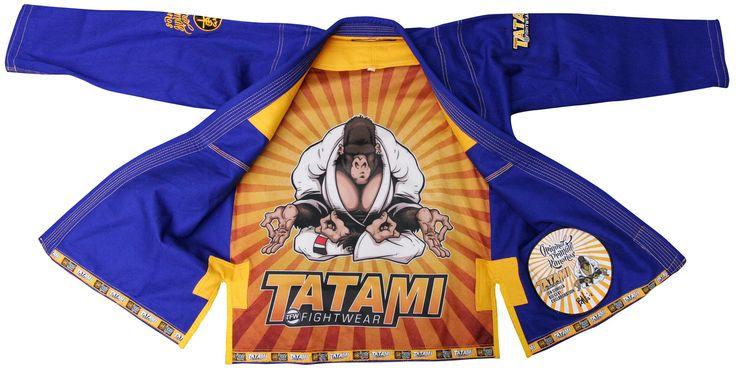 Jacket Open Zen Gorilla Jiu-Jitsu Gi by Tatami - Blue