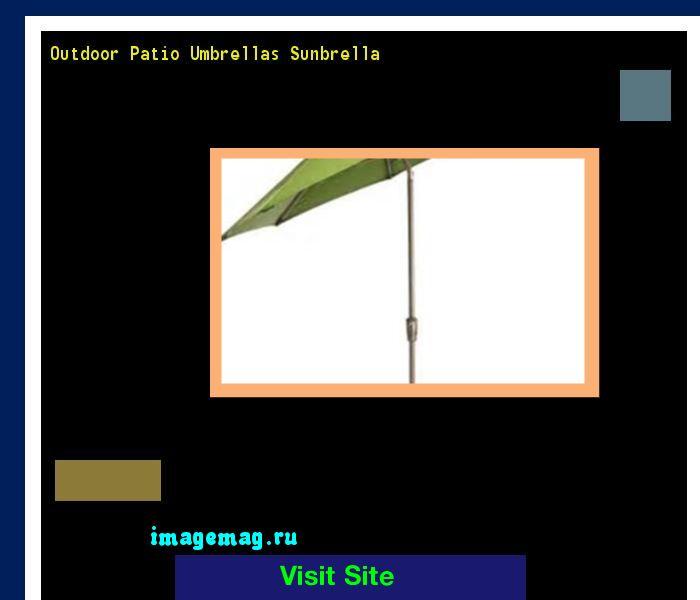 Outdoor Patio Umbrellas Sunbrella 213022 - The Best Image Search