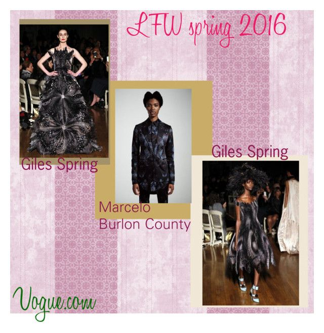 """""""Lexus price LFW spring 2016"""" by lexusmprice on Polyvore featuring Giles"""