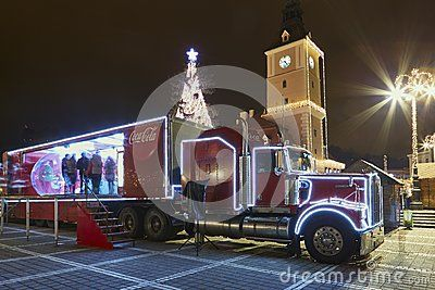 Christmas Coca-Cola Truck - Download From Over 28 Million High Quality Stock Photos, Images, Vectors. Sign up for FREE today. Image: 48005733