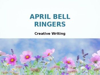I use creative writing prompts, along with images, for bell ringers in my Creative Writing class.I've also used it with my English 10 students as bell ringers / writing prompts.Each slide contains a prompt (example--Write a conversation between these two alpacas) along with an image.