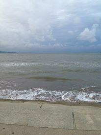 2013佐渡国際トライアスロン 海が大荒れ、スイムが中止に(泣)。