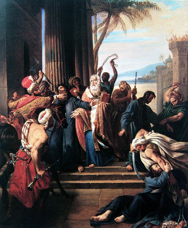 Hugues Fourau (1803-1873)-Ο θάνατος του Πατριάρχη Γρηγορίου Ε
