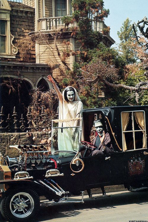 The Munsters    Source: vintagegal     i loved that car as a kid.