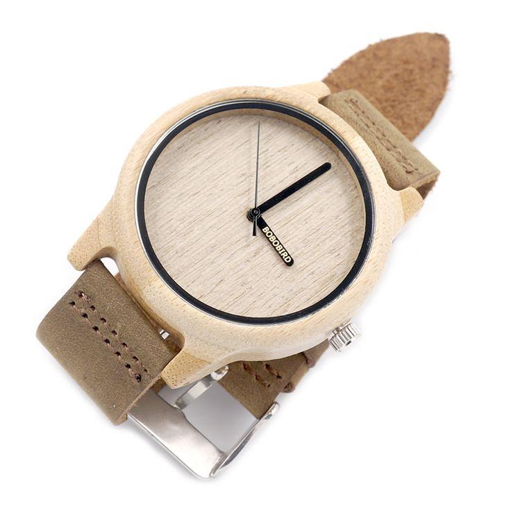 Bamboo Wooden Watches Japan Quartz - Goodyy Woodyy