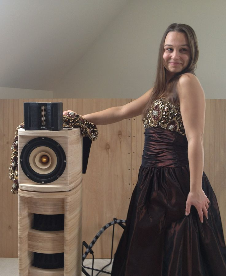 NYC Recording artist Amy Regan with Surreal Speakers