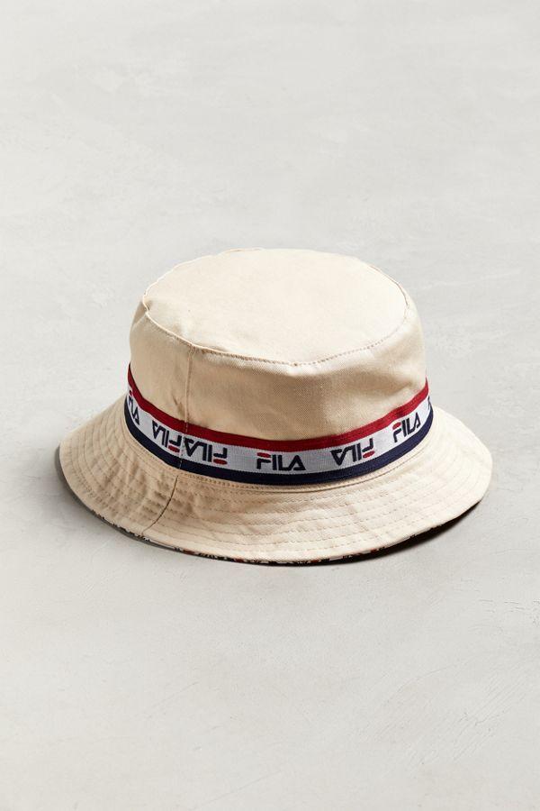 c7d3cfa6 FILA Reversible Bucket Hat in 2019 | les vetements | Hats, Bucket hat, New  man clothing