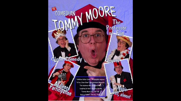Comedian Tommy Moore  - The Ultimate Ethnic Joke