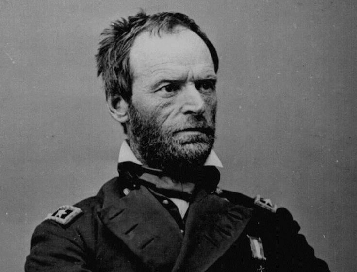 William T. Sherman during the Civil War